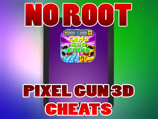Cheats For Pixel Gun 3D No Root prank for PC
