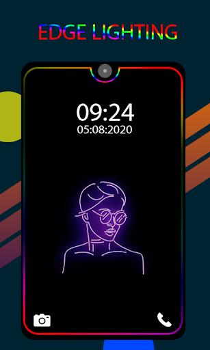 Edge Lighting Colors-Borderlight Live Wallpaper Apk by ...