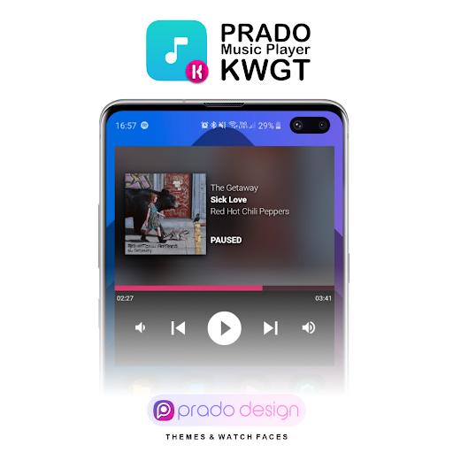 PRADO Music Player for KWGT  screenshots 1