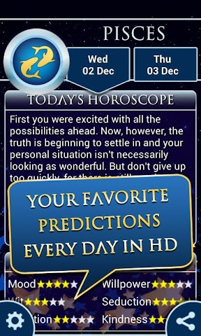 android Pisces Horoscope 2015 HD Screenshot 1