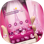Love Paris Diamond Theme Icon