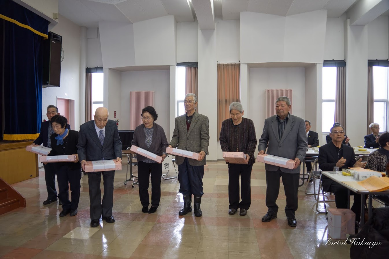 米寿祝記念品贈呈