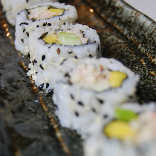Uramaki - Inside Out Sushi Roll