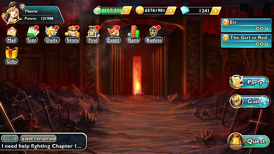 Download Return to Asgard (Fantasy RPG) For PC Windows and Mac apk screenshot 15