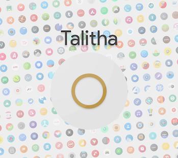 Talitha Round - Icon Pack screenshot