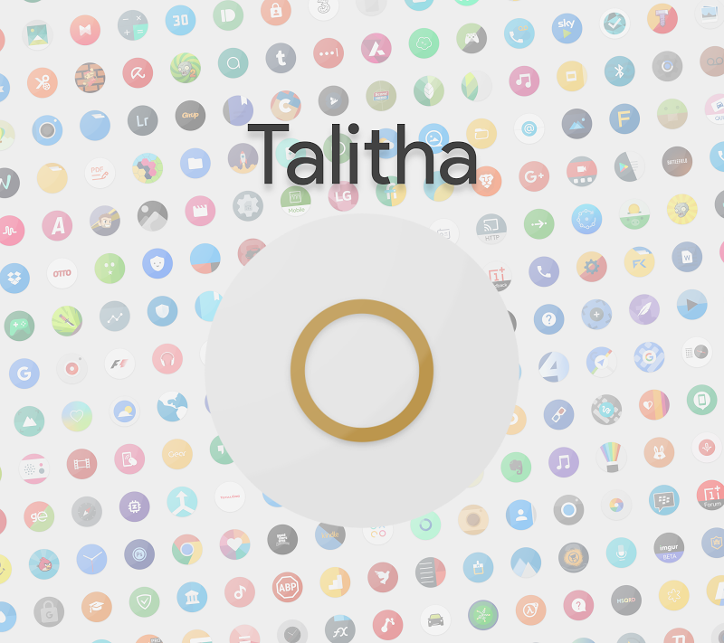 Talitha Round - Icon Pack Screenshot 4