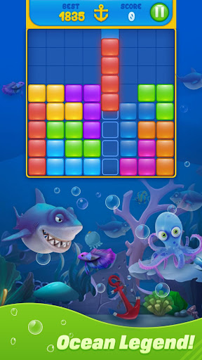Save Fish - Block Puzzle Aquarium 13.0 screenshots 5