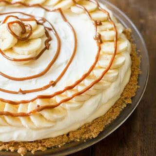 Dulce De Leche Banana Cream Pie.