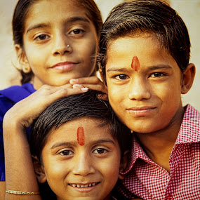 Indian Kids by Gernot Koller - Babies & Children Children Candids