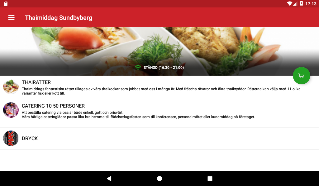 Thaimiddag- screenshot