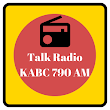 KABC 790 AM Talk Radio Station California icon