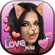 Free Cute Cat Face Camera Editor APK for Windows 8