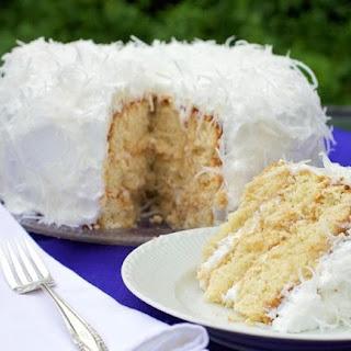 Diabetic-Friendly Coconut Layer Cake.