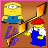Minions VS Lego: Tik-Tak-Toe