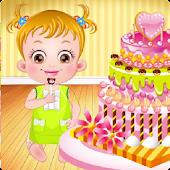 Baby Hazel Sofia Birthday Cake