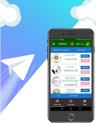 Member adder , Telegram channel member by Siahgosh Company (Google