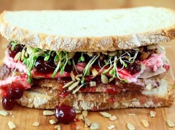Turkey Cranberry Cream Cheese Sandwich Recipe