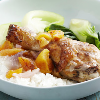Chicken and Apricot Casserole.
