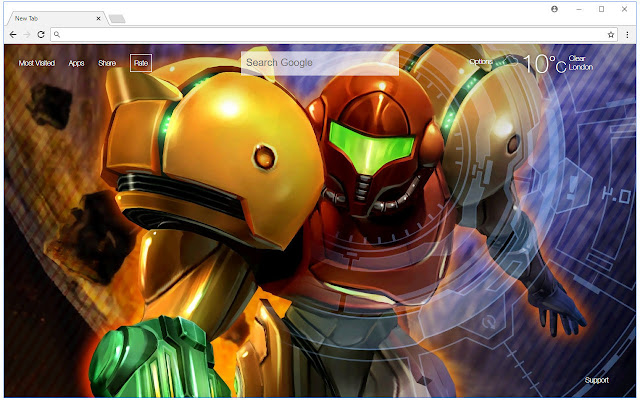 Metroid Wallpapers HD New Tab Themes