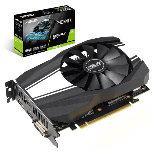 Card màn hình/ VGA ASUS Phoenix GeForce GTX 1660 Ti 6GB GDDR6 (PH-GTX1660TI-6G)
