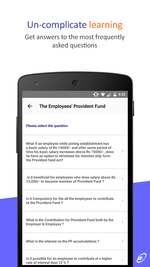 LK Nakashe -The Labour Law App- screenshot