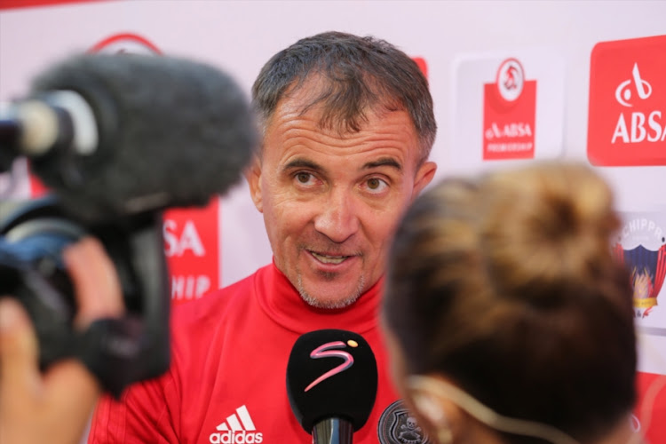 Orlando Pirates' head coach Milutin 'Micho' Sredojevic.