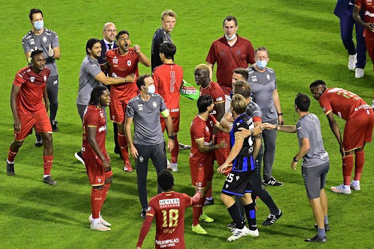"""Le match s'est terminé dans la confusion: """"Les Brugeois ont été hautains"""""""
