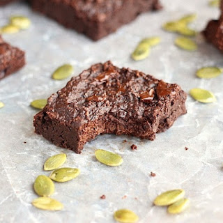 Small Batch Pumpkin Seed Flour Brownies (Grain-Free, Nut-Free, Low Sugar) Recipe