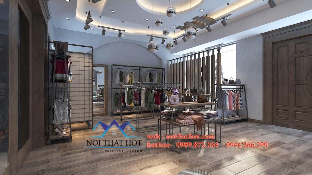 thiết kế shop thời trang nữ lily 6