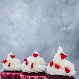 Super Moist Red Velvet Cupcakes.