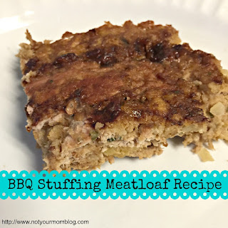 BBQ Stuffing Meatloaf.