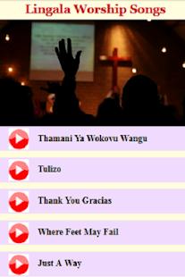Lingala Worship Songs - náhled
