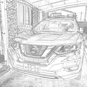 エクストレイル HNT32 20Xハイブリッド4WDのカスタム事例画像 *アクア*さんの2019年01月04日19:41の投稿