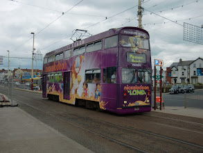 Photo: Tram in Blackpool