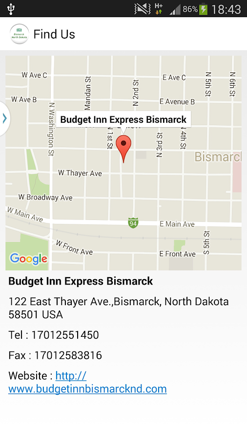 Budget Inn Express Bismarck- screenshot