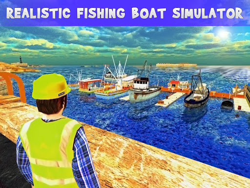 Fishing boat cruise drive 3d real fishing game game apk for Fishing game android