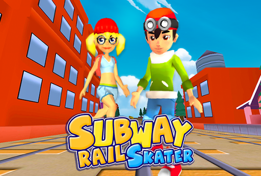3D Subway Skaters Surf Run