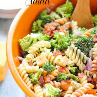 Broccoli Bacon & Pasta Salad.