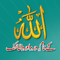 Allah Names with Audio MP3 & Video, Wird & Wazaif icon