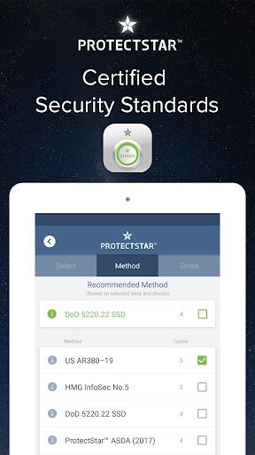 iShredder™ 5 PRO Data Shredder app for Android screenshot