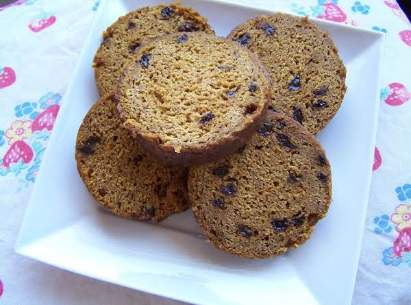 Baking This Pumpkin Bread In An Empty Coffee Can Gives It A Fun Round Shape.