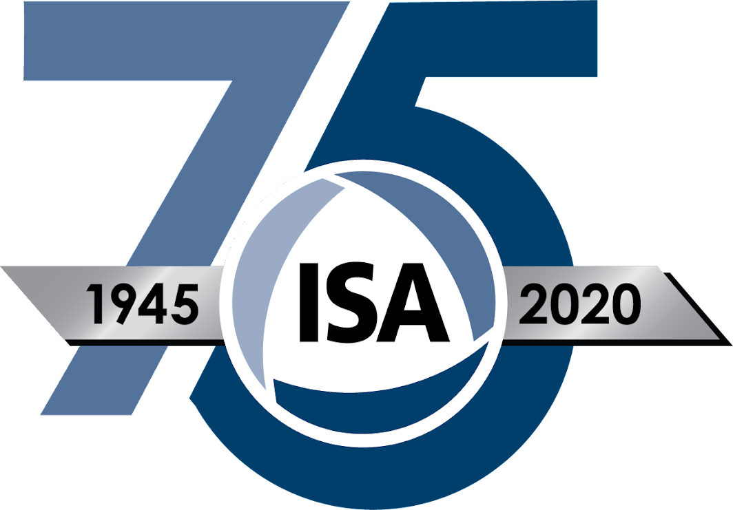 ISA 75th Anniversary Logo