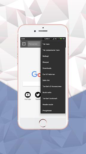 x Browser - Pro Super Fast 3.0 screenshots 5