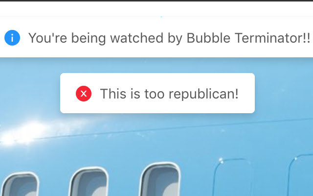 Bubble Terminator