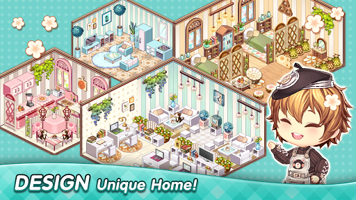 Kawaii Home Design - Decor & Fashion Game  screenshots 1