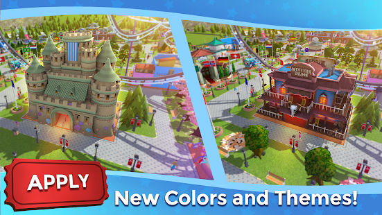 RollerCoaster Tycoon Touch Build your Theme Park v3 1 1 Mod