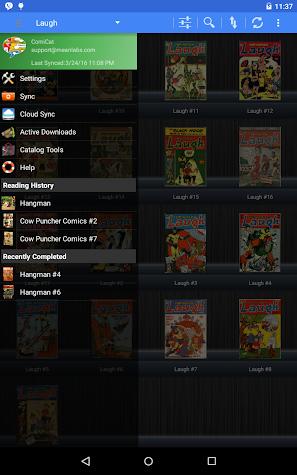 ComiCat (Comic Reader/Viewer) Screenshot