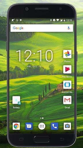 Transparent Phone Screen HD Simulation screenshot