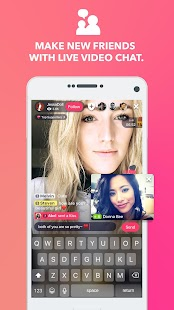 PocketLIVE - fun live video chat rooms and shows- screenshot thumbnail