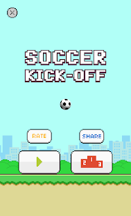 Flappy Soccer Kick Off- screenshot thumbnail